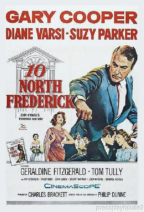 10 North Frederick: DVD, 1958, Gary Cooper, Diane Varsi, Stuart Whitman, Widescreen product photo