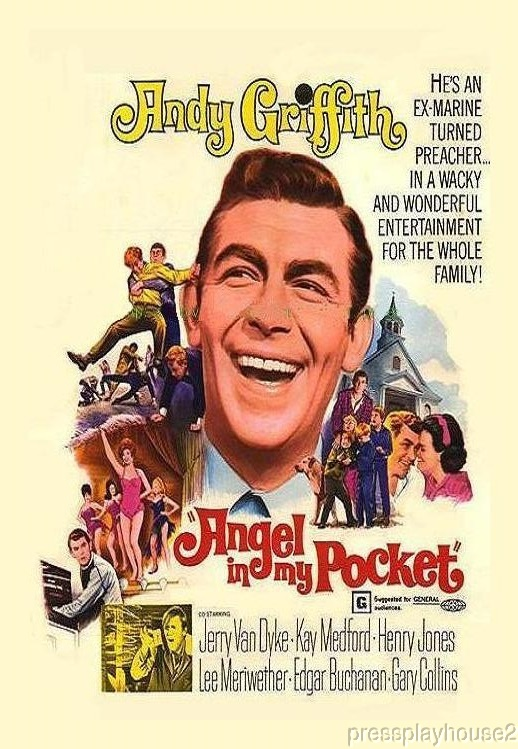 Angel In My Pocket: DVD, 1969, Andy Griffith, Lee Meriweather, Jerry Van Dyke, Widescreen product photo
