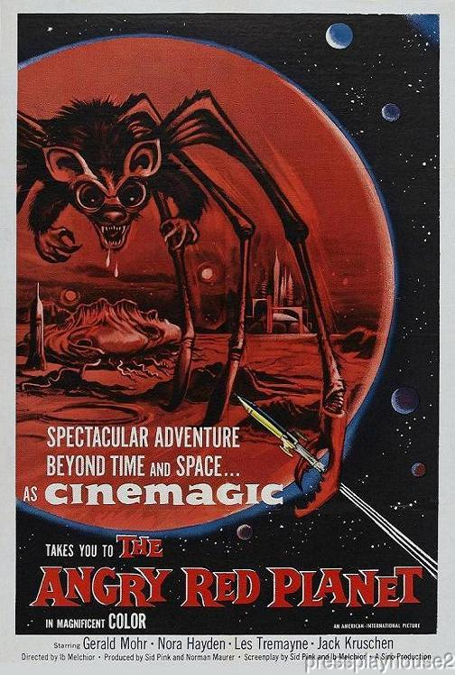 The Angry Red Planet: DVD, 1959, Gerald Mohr, Nora Hayden, Jack Kruschen product photo