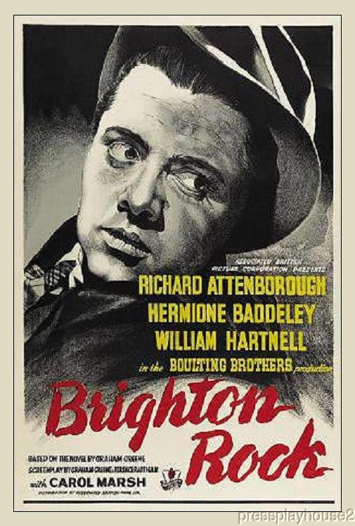 Brighton Rock: DVD, 1947, Richard Attenborough, UK Crime Classic product photo