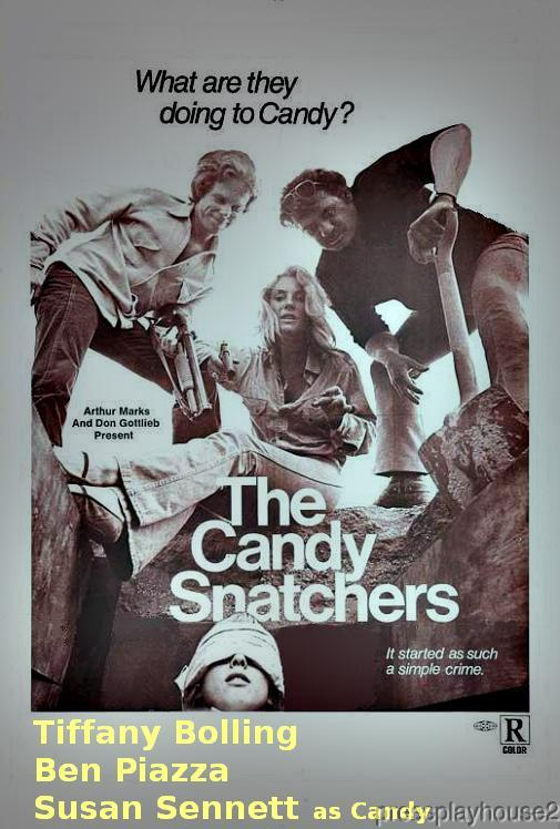 The Candy Snatchers: DVD, 1973, Tiffany Bolling, Crime Exploitation Thriller, Widescreen product photo