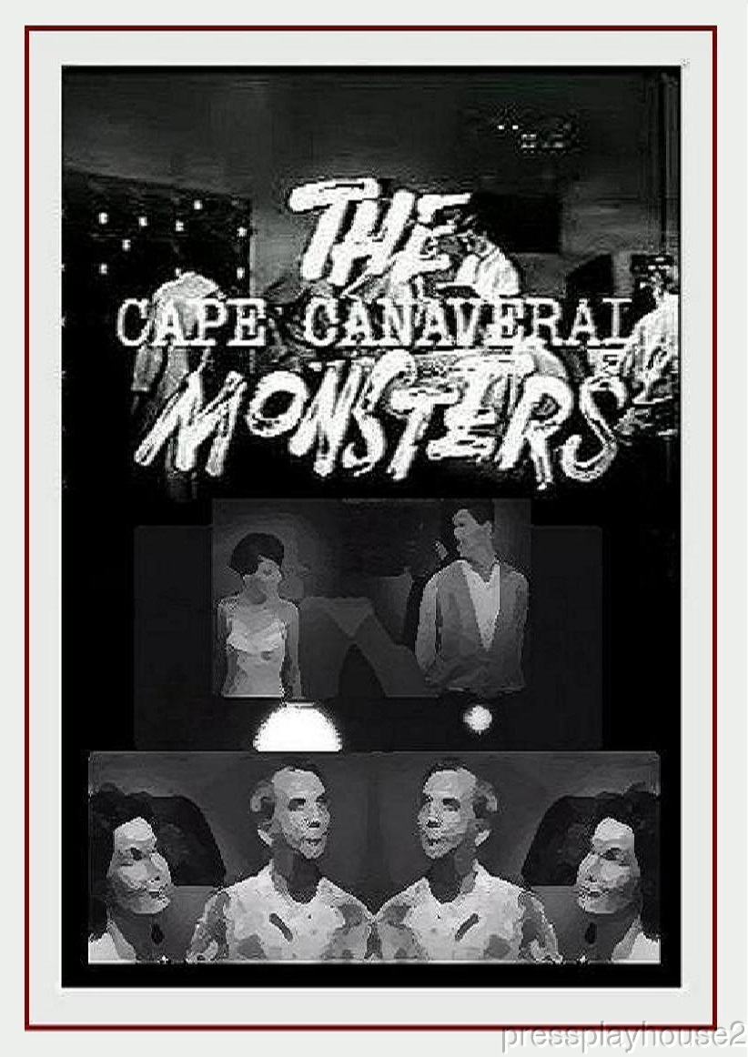 The Cape Canaveral Monsters: DVD, 1960, Great Cheesy Sci-Fi With Teens!! product photo