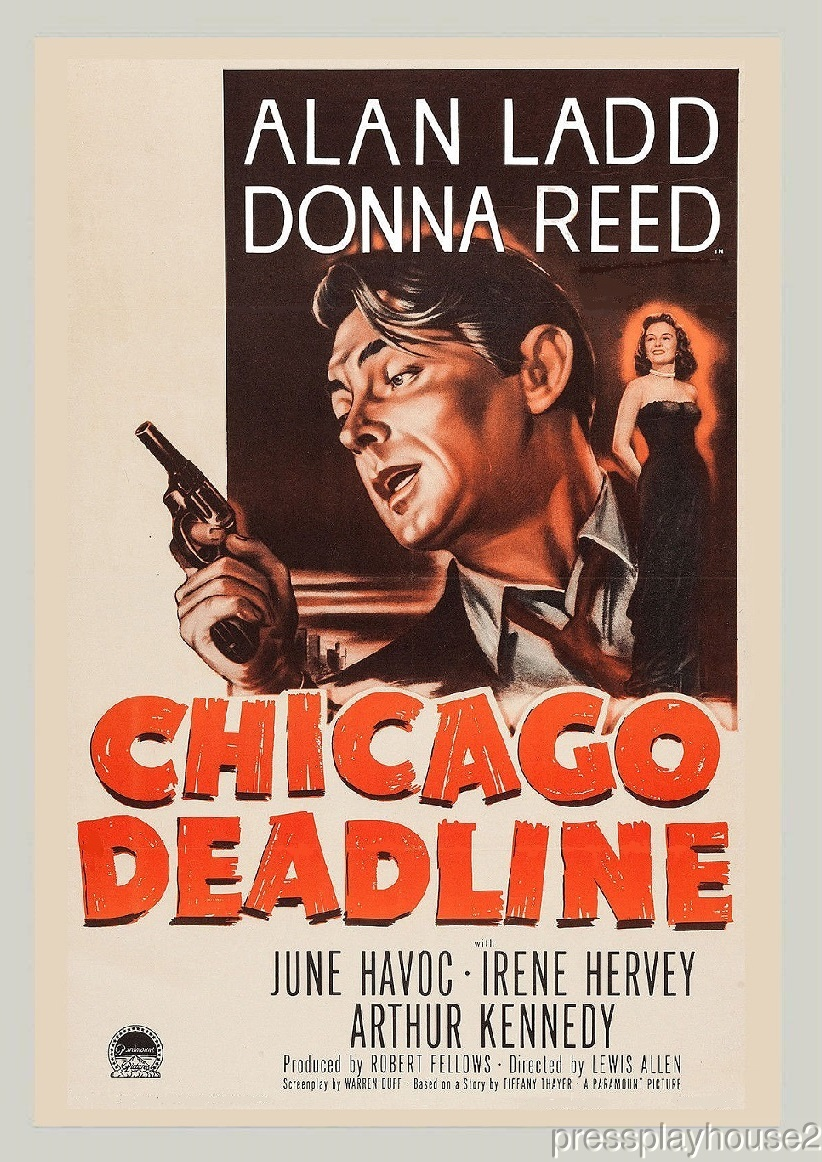 Chicago Deadline: DVD, 1949, Alan Ladd, Donna Reed, June Havoc, Arthur Kennedy, Scarce Film Noir Classic product photo