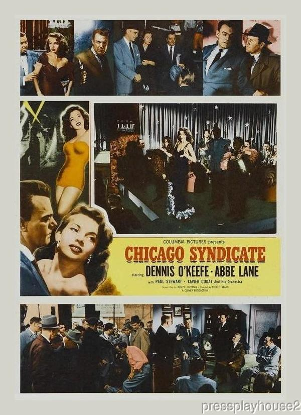Chicago Syndicate: DVD, 1955, Dennis O'Keefe, Abbe Lane, Allison Hayes, Widescreen product photo