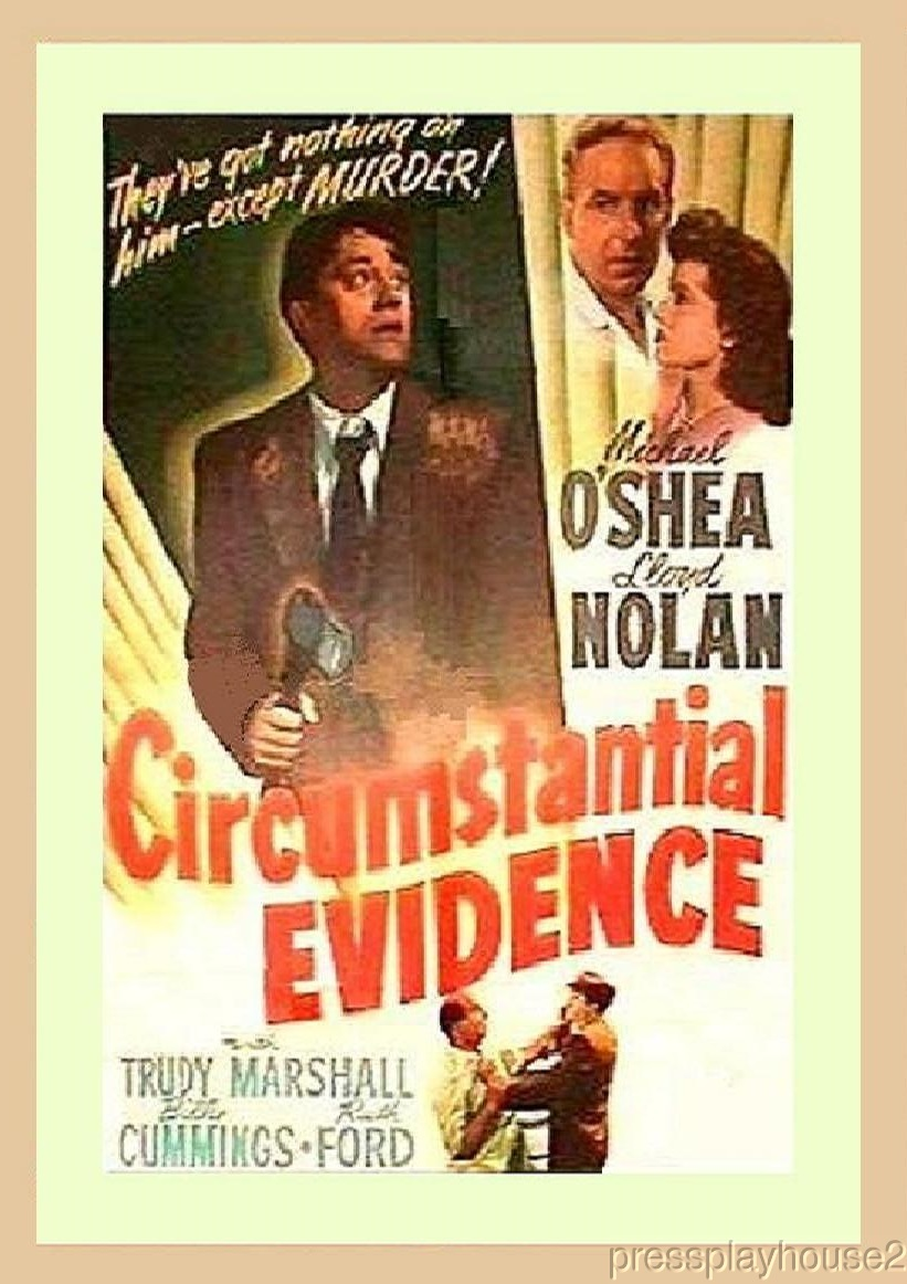 Circumstantial Evidence: DVD, 1945, Lloyd Nolan, Michael O'Shea product photo
