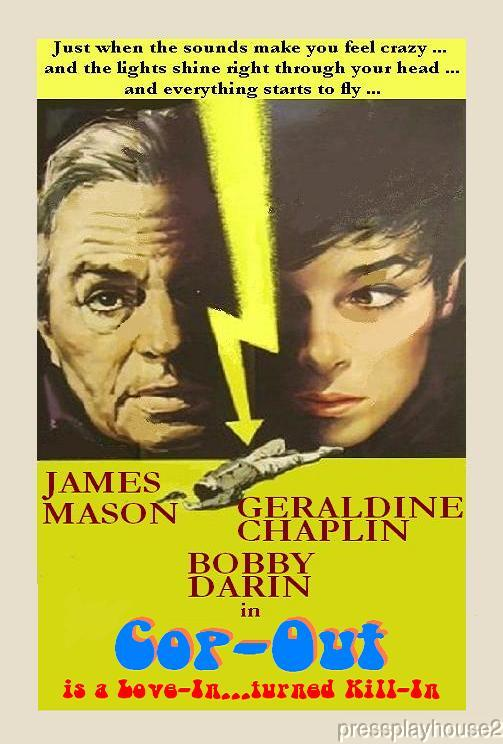 Cop-Out: DVD, 1967, James Mason, Geraldine Chaplin, Bobby Darin, Twisted UK Crime Melodrama product photo