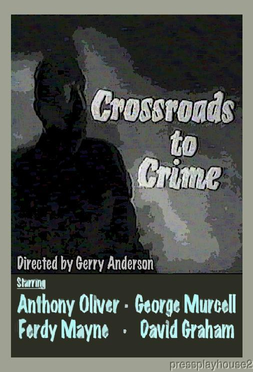Crossroads To Crime: DVD, 1960, Anthony Oliver, Rare UK Crime Thriller product photo