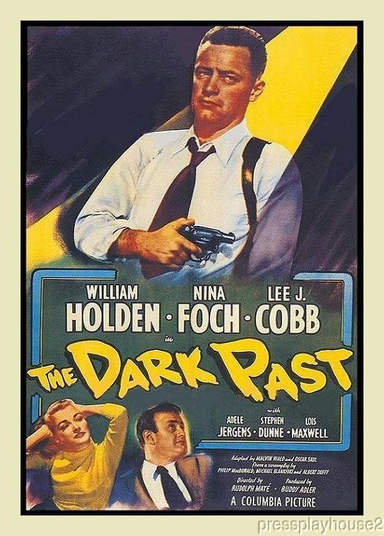 The Dark Past: DVD, 1948, William Holden, Nina Foch, Lee J. Cobb, Adele Jergens product photo