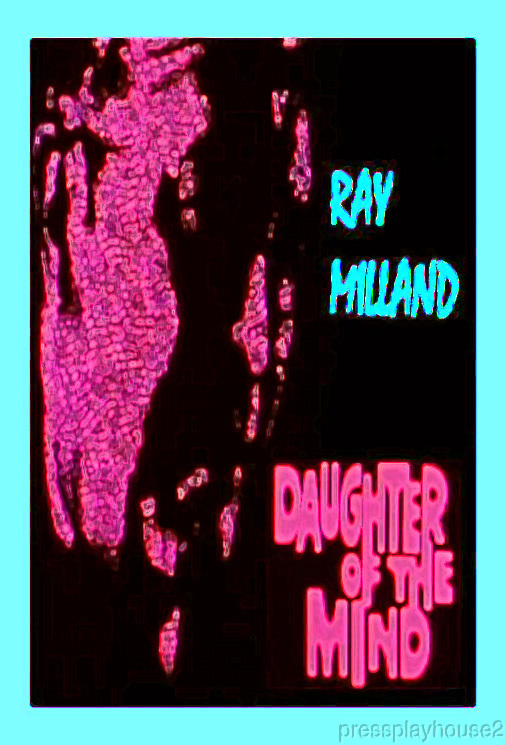 Daughter of The Mind: DVD, 1969, Ray Milland, Gene Tierney, Don Murray, Horror Thriller product photo