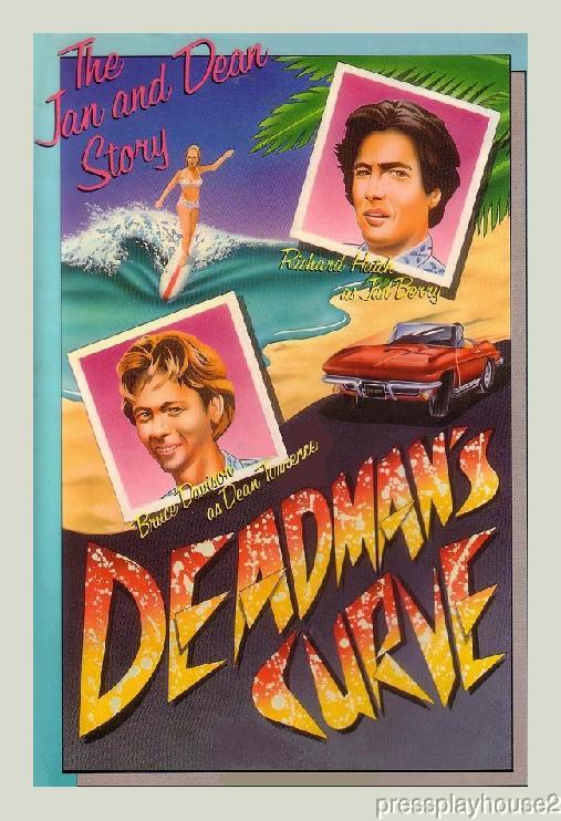 Deadman's Curve: DVD, 1978, Richard Hatch, Bruce Davison, Dick Clark, Wolfman Jack, Jan & Dean Bio product photo