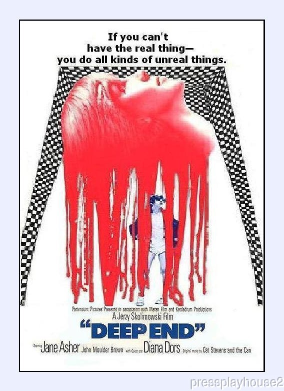 Deep End: DVD, 1971, Jane Asher, Jon Moulder, Brown, Diana Dors product photo