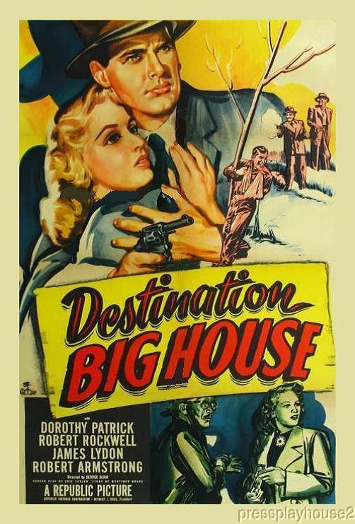 Destination Big House: DVD, 1950, Dorothy Patrick, Jimmy Lydon, Mickey Knox product photo