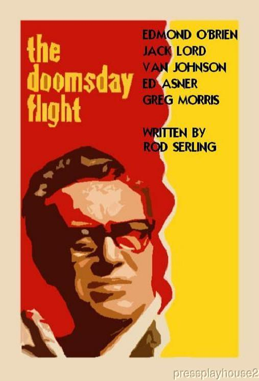 The Doomsday Flight: DVD, 1966, Edmond O'Brien, Jack Lord, All-Star Cast, Written By Rod Serling product photo