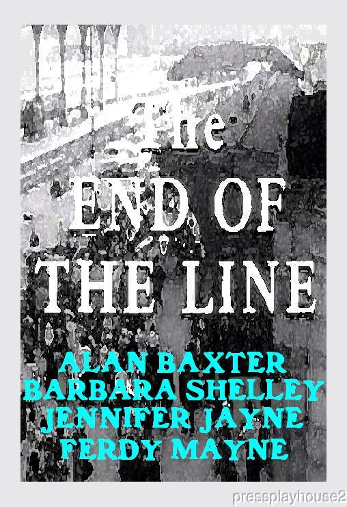 The End of The Line: DVD, 1957, Barbara Shelley, Alan Baxter, Ferdy Mayne, UK Crime product photo