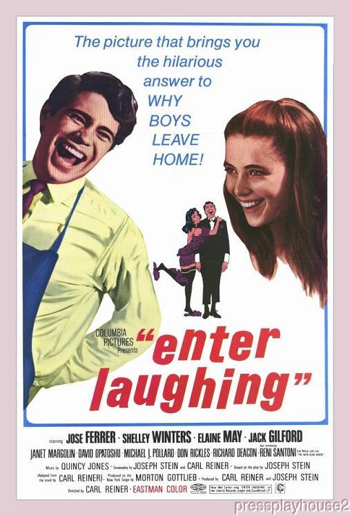 Enter Laughing: DVD, 1967, Reni Santoni, Shelley Winters, Elaine May, Jose Ferrer, Widescreen product photo