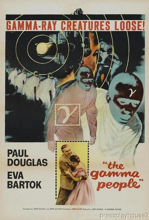 The Gamma People: DVD, 1956, Paul Douglas, Eva Bartok, UK Sci-Fi Horror Chiller!! product photo