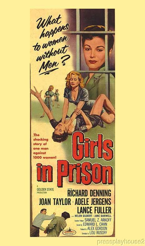 Girls In Prison: DVD, 1956, Richard Denning, Adele Jergens, Top-Notch Cult 50s Classic product photo