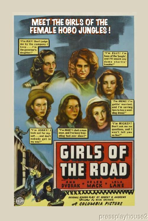 Girls of The Road: DVD, 1940, Ann Dvorak, Ann Doran, Early Crime Exploitation! product photo