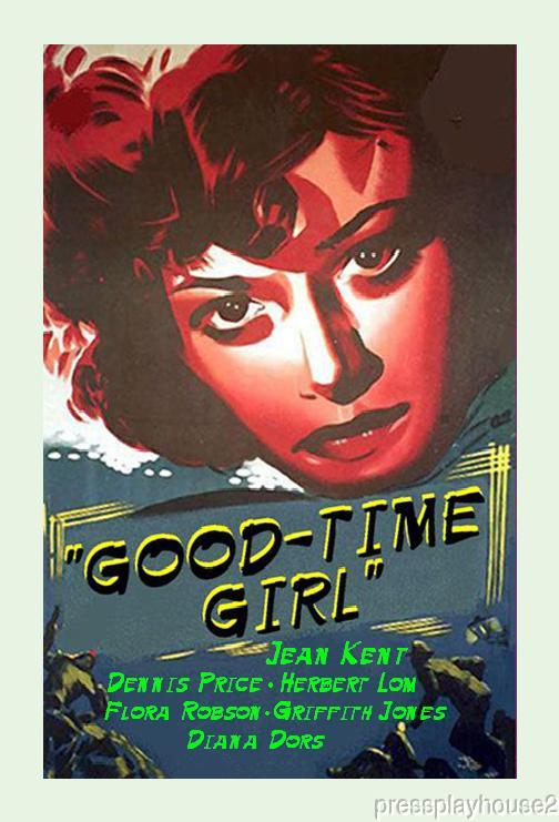 Good-Time Girl: DVD, 1948, Jean Kent, Herbert Lom, Flora Robson, Diana Dors, UK Crime product photo
