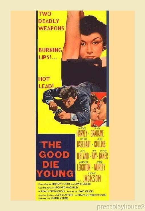 The Good Die Young: DVD, 1954, Lawrence Harvey, Joan Collins, Gloria Grahame, Richard Basehart product photo