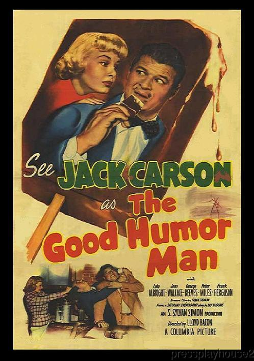The Good Humor Man: DVD, 1950, Jack Carson, Lola Albright, George Reeves product photo
