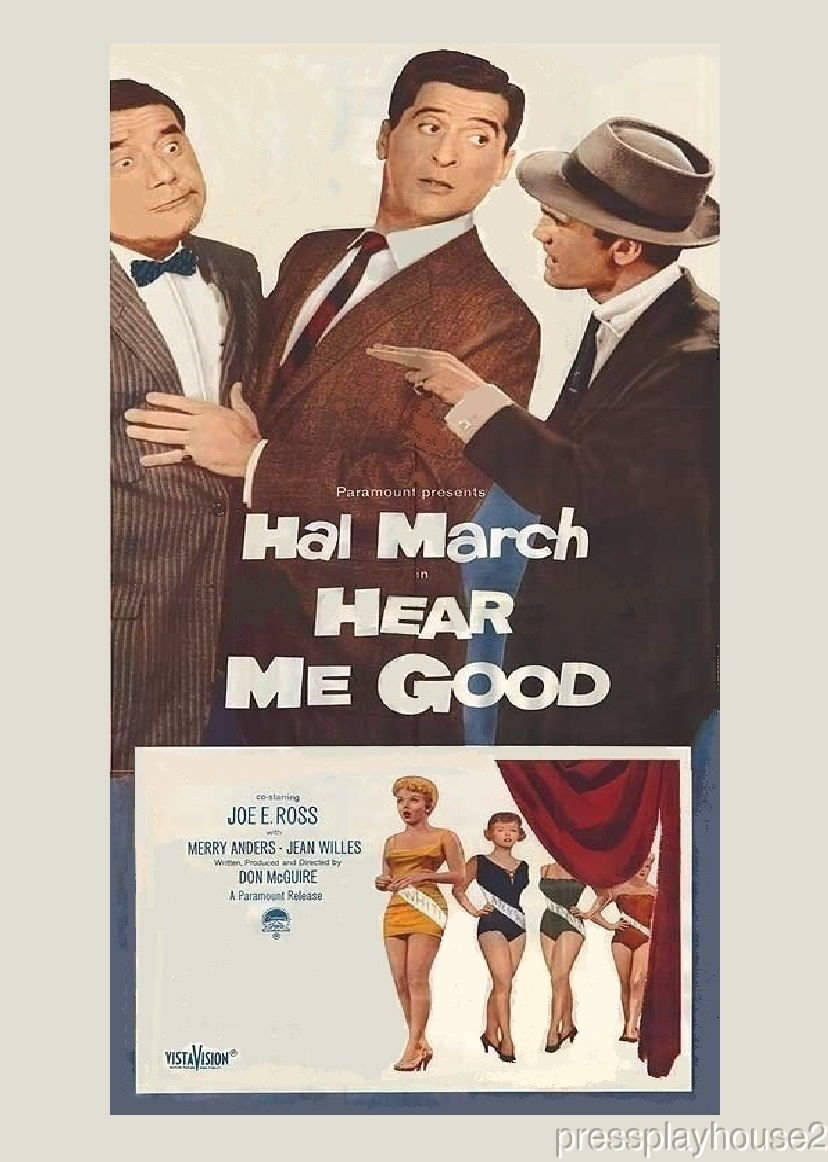 Hear Me Good: DVD, 1957, Joe E. Ross, Hal March, Merry Anders, Rare 50s Comedy product photo