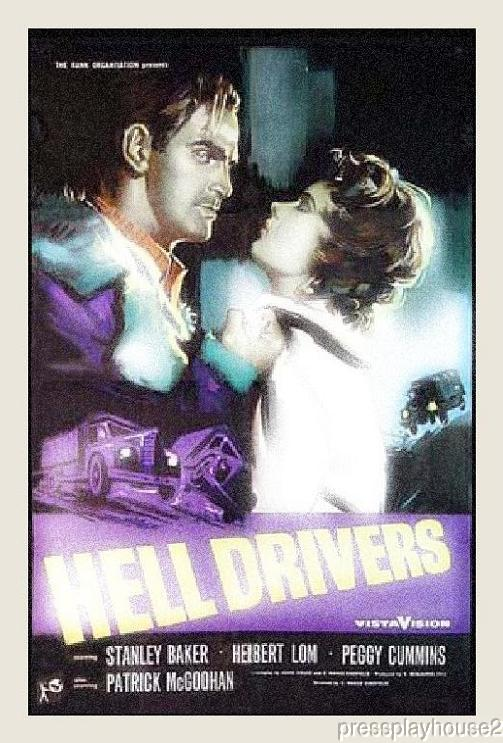 Hell Drivers: DVD, 1957, Stanley Baker, Sean Connery, Patrick Mcgoohan, David Mccallum, Gritty UK Crime product photo