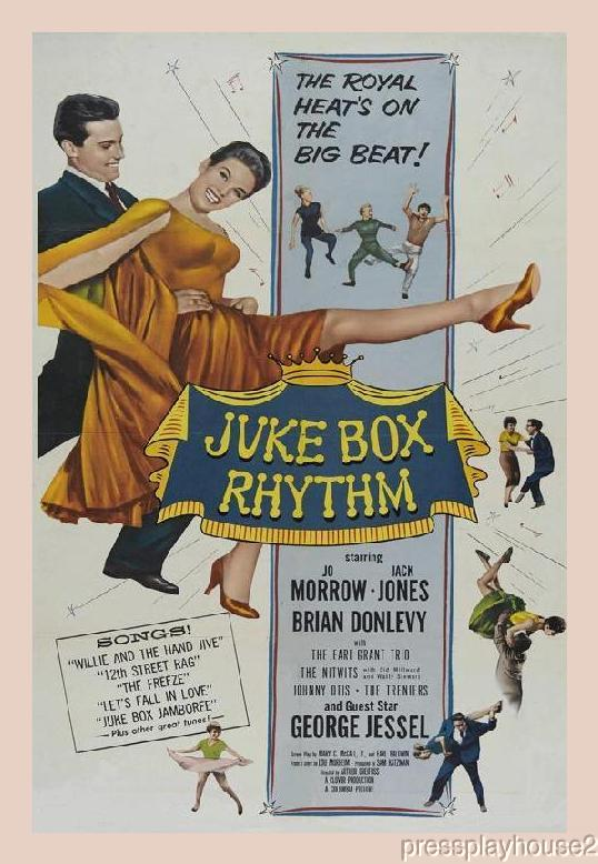 Juke Box Rhythm: DVD, 1959, Jack Jones, Jo Morrow, Hans Conried, Johnny Otis, The Treniers, Rare 50s R&B Musical product photo