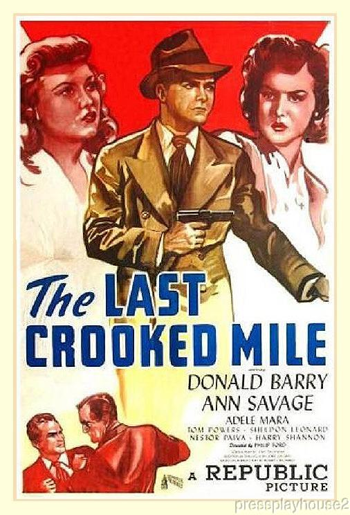 The Last Crooked Mile: DVD, 1946, Don