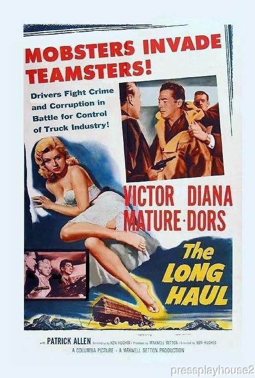 The Long Haul: DVD, 1957, Victor Mature, Diana Dors, Widescreen product photo
