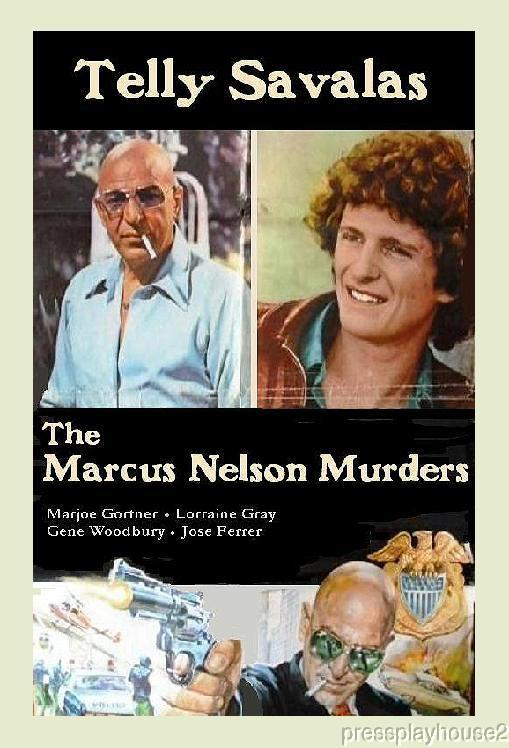 The Marcus-Nelson Murders: DVD, 1973, Telly Savalas, Jose Ferrer, Marjoe Gortner product photo