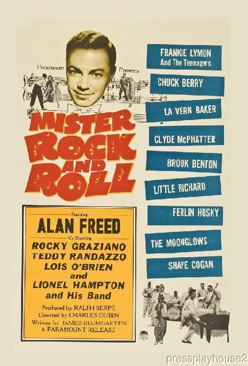 Mister Rock and Roll: DVD, 1957, Alan Freed, Teddy Randazzo, Frankie Lymon, Little Richard, Chuck Berry product photo