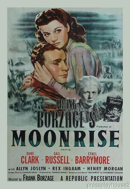 Moonrise: DVD, 1948, Dane Clark, Gail Russell, Lloyd Bridges, Ethel Barrymore, Film Noir Gem product photo