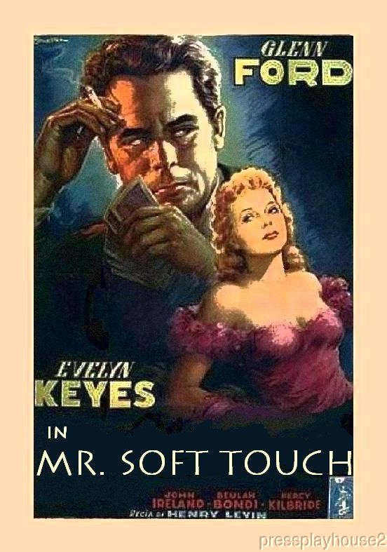 Mr. Soft Touch: DVD, 1949, Glenn Ford, Evelyn Keyes, John Ireland, Film Noir Classic product photo