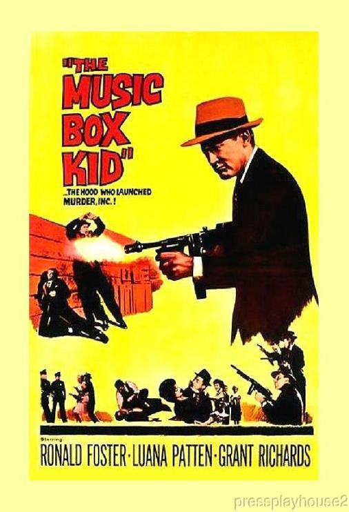 The Music Box Kid: DVD, 1960, Ron Foster, Luana Patten, Grant Richards, Widescreen product photo