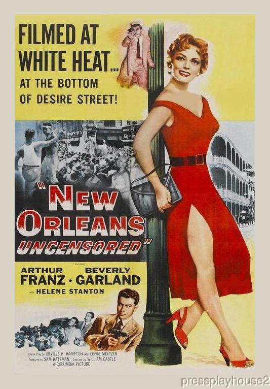 New Orleans Uncensored: DVD, 1955, Beverly Garland, Arthur Franz, Stacy Harris product photo