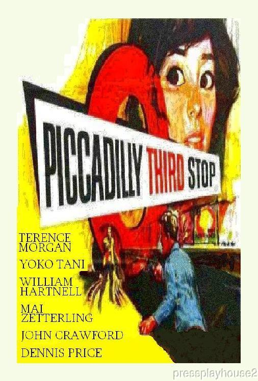 Piccadilly Third Stop: DVD, 1960, Terence Morgan, William Hartnell, Yoko Tani, UK Crime, Widescreen product photo