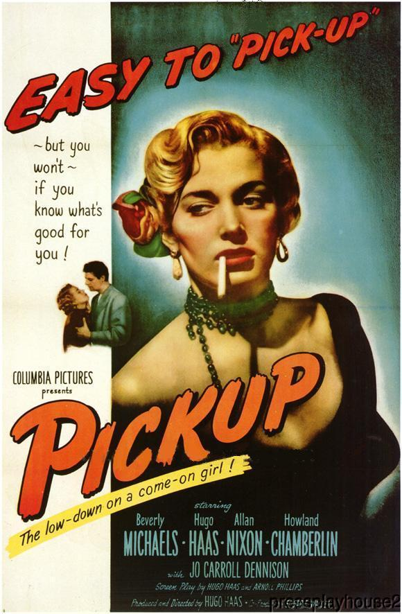 Pickup: DVD, 1951, Beverly Michaels, Hugo Haas, Bernard Gorcey, Rarely Seen Film Noir product photo
