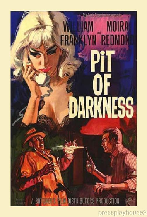 Pit of Darkness: DVD, 1961, William Franklyn, Nigel Green, Rare UK Crime Thriller product photo