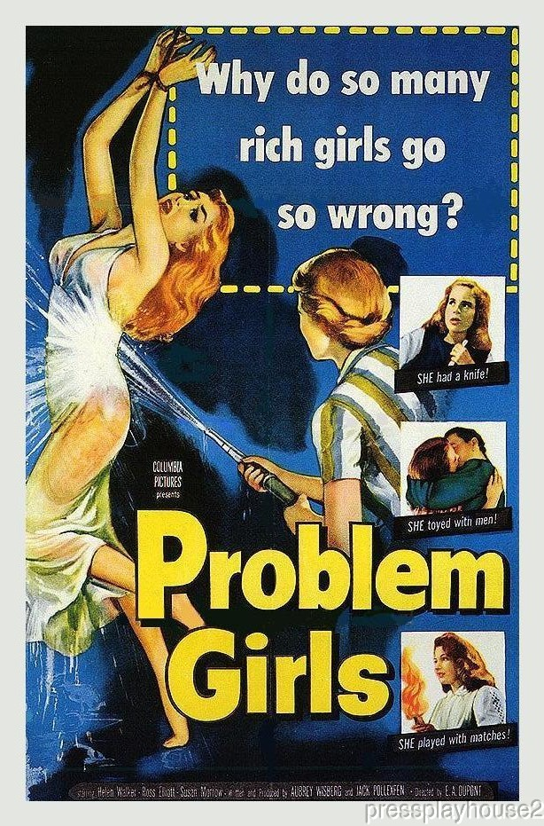 Problem Girls: DVD, 1953, Beverly Garland, Mara Corday, Joyce Jameson, Rarely Seen Mystery product photo