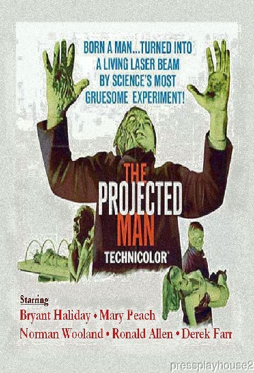 The Projected Man: DVD, 1966, Bryant Haliday, Mary Peach, Derek Farr, Obscure Uk Sci-Fi, Widescreen product photo