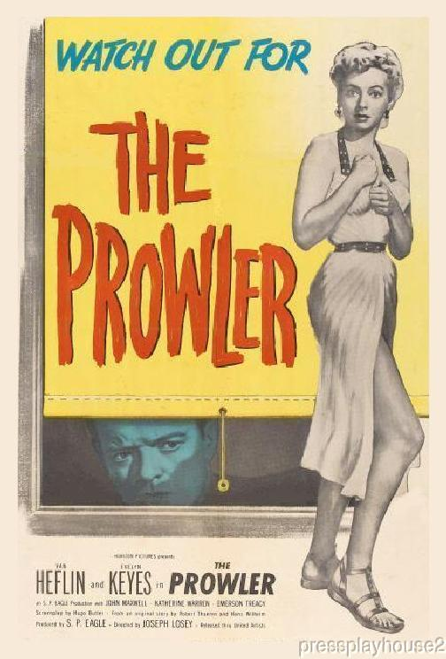 The Prowler: DVD, 1951, Van Heflin, Evelyn Keyes, Classic Film Noir product photo