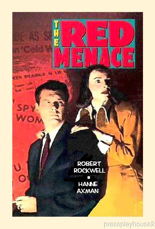 The Red Menace: DVD, 1949, Robert Rockwell, Barbara Fuller, Communist Scare Melodrama product photo