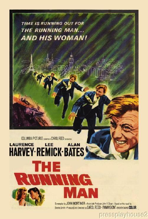 The Running Man: DVD, 1963, Lee Remick, Laurence Harvey, Alan Bates, Widescreen product photo