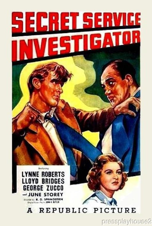Secret Service Investigator: DVD, 1948, Lloyd Bridges, George Zucco, Rare 40S Crime! product photo