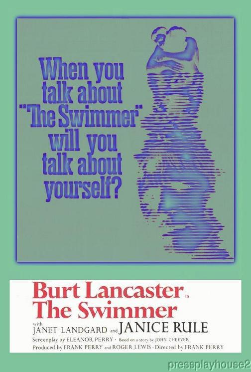 The Swimmer: DVD, 1968, Burt Lancaster, Janice Rule, Kim Hunter, Widescreen product photo