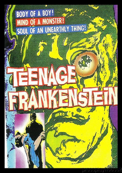 Teenage Frankenstein: DVD, 1957, Gary Conway, Phylliss Coates, Ultimate Teen Horror Classic!! product photo