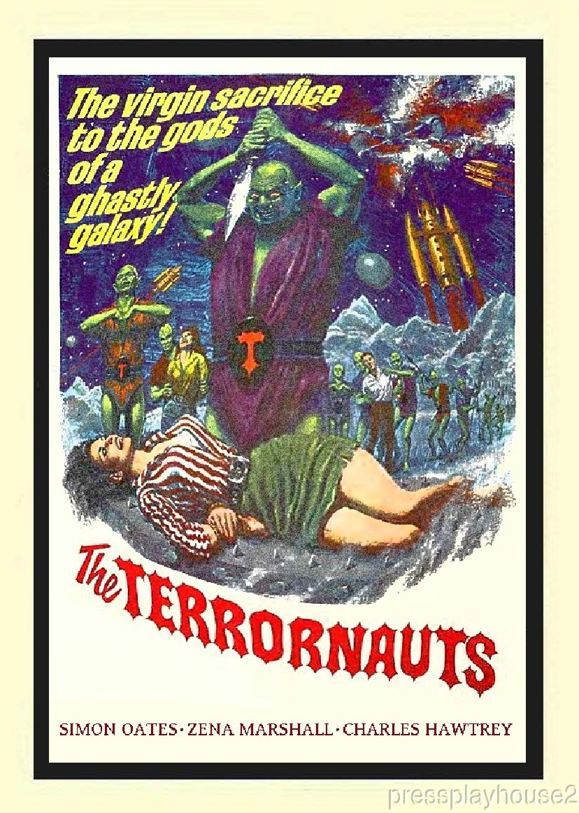 The Terrornauts: DVD, 1967, Simon Oates, Zena Marshall, Charles Hawtrey, Rare UK Sci-Fi product photo