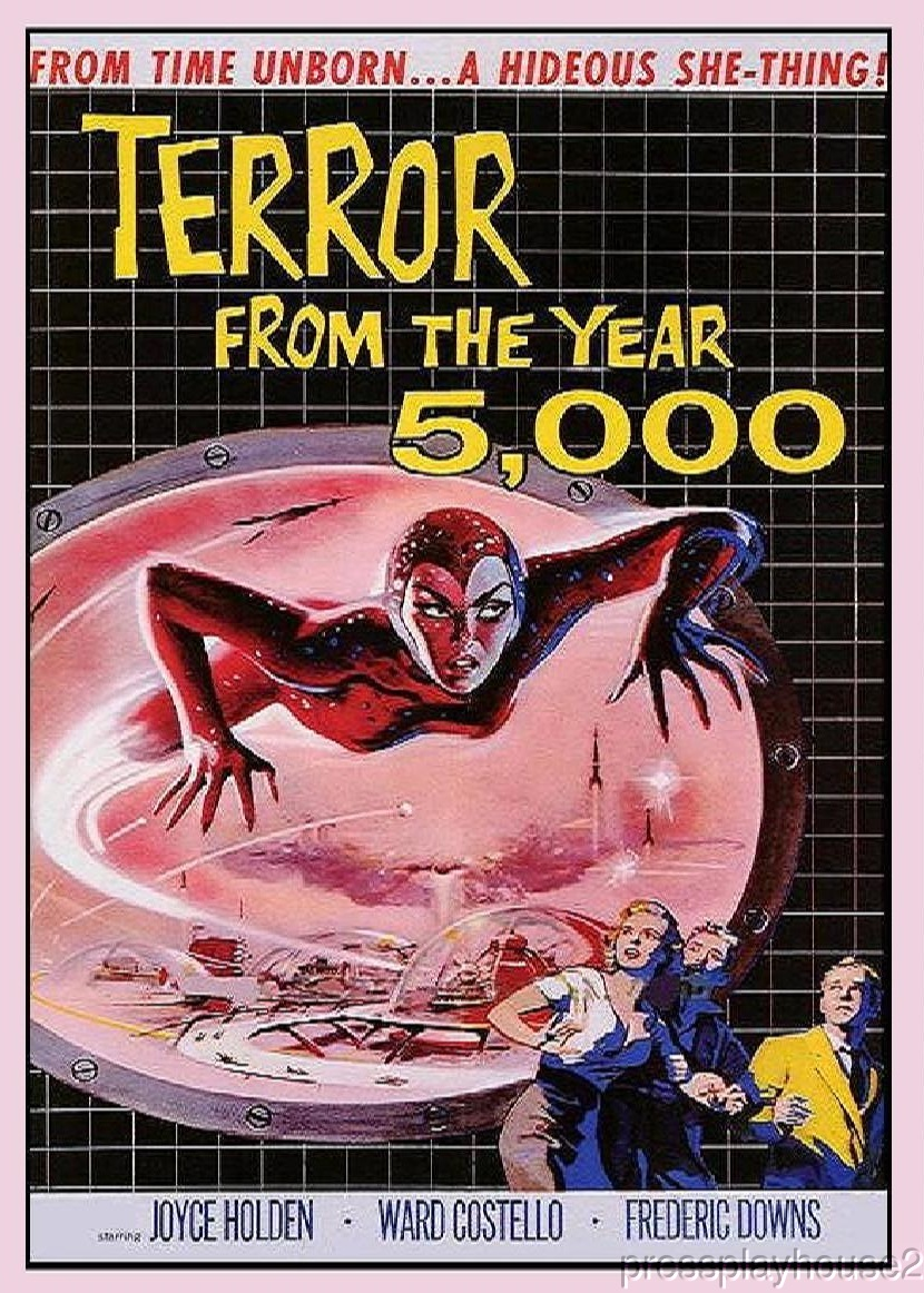 Terror From The Year 5000: DVD, 1958, Salome Jens, Joyce Holden, Ward Costello,The Great 50s Cult Sci-Fi Classic!! product photo