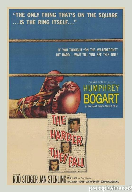 The Harder They Fall: DVD, 1956, Humphrey Bogart, Rod Steiger, Jan Sterling, Widescreen product photo